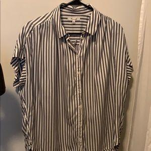 Madewell Central Shirt in Ballard Stripe